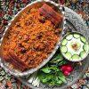 دستور پخت لوبیا پلو با گوشت